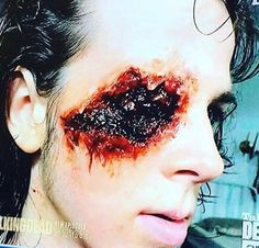 This is the fantastic makeup for Carl.