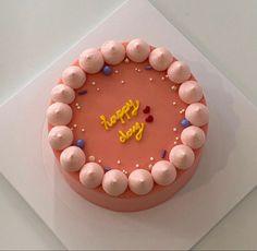 Pretty Birthday Cakes, Pretty Cakes, Cake Birthday, Mini Cakes, Cupcake Cakes, Simple Cake Designs, Pastel Cakes, Frog Cakes, Think Food