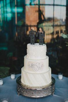 Grooms Cake Topper