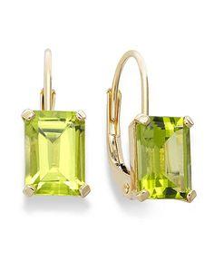 favorite peridot earrings