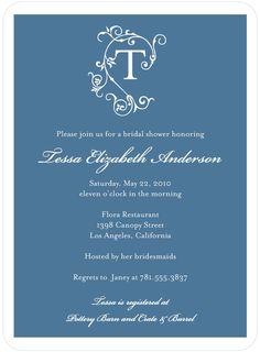 Bridal Shower Invitations by Wedding Paper Divas