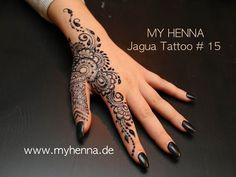 MY HENNA - Jagua Tattoo # 15 - YouTube