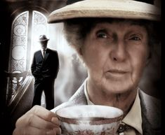 The one and only Joan Hickson as Miss Marple. She starred in the Marple PBS shows produced by the BBC in the Pbs Mystery, Mystery Series, Miss Marple, Best Mysteries, Cozy Mysteries, Detective, Agatha Christie's Marple, Masterpiece Theater, Masterpiece Mystery