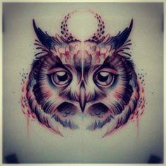 Art-draw-owl