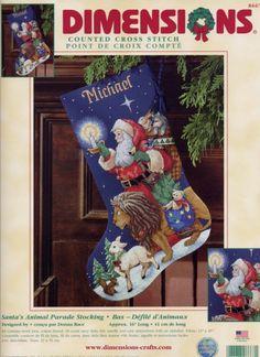 ru / Photo # 1 - 33 - the Ka Cross Stitch Christmas Stockings, Cross Stitch Stocking, Christmas Cross, Xmas, Cross Stitch Embroidery, Cross Stitch Patterns, Wool Yarn, Holiday Decor, Fabric