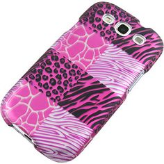 Pink #Exotic Print Protector Case for #Samsung Galaxy S III $9.99 From #DayDeal
