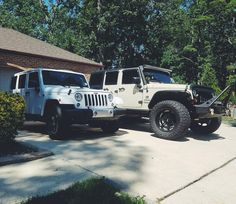 The white Jeep  I want