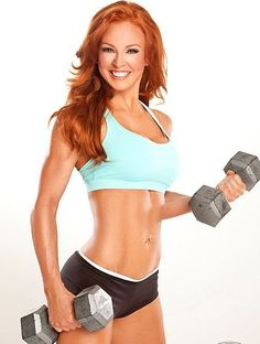 Working out really can make you smile like this! :D