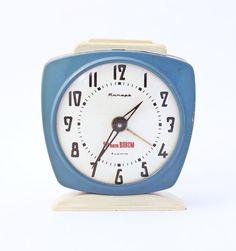 Vintage alarm clock Jantar from Soviet Union era
