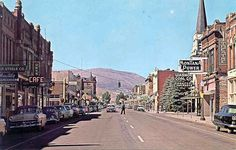Anaconda, MT, have some great memories from this little city