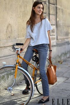 Bicycle Summer Outfits Style Spring Images Bike Best 1493 Girl EgwqHq