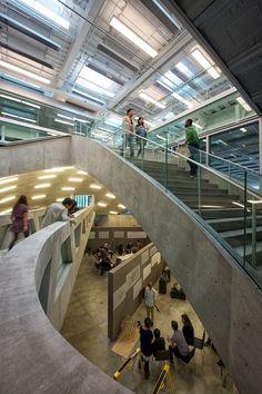 Gallery of Milstein Hall at Cornell University / OMA - 13