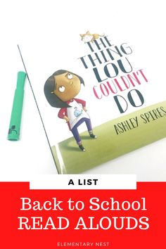 Back to school time already? Check out these 9 Back to School Read Aloud Books. I have compiled a list of 9 books to help you load up your back to school lesson plans. Books about the first day of school are so important to include to help your students feel comfortable in the classroom. Check out my most recommended back to school read aloud books here!