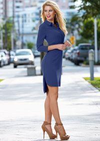 High Low Collar Dress $49