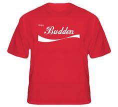 Budden Enjoy Cola Parody Custom Name T Shirt