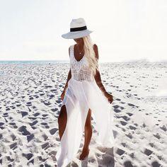 Bohemia Chiffon Stitching Tassel Beach Vacation Dress