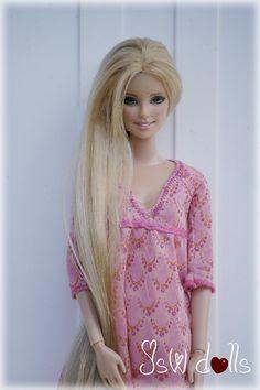 Barbie Hair, Barbie Dress, Barbie Clothes, Mattel Barbie, Barbie Fashionista, Barbie Blog, Barbie Summer, Barbies Pics, Beautiful Barbie Dolls