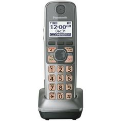 Panasonic KX-TGA470S Extra Handset for KX-TG77XX Cordless Phones Series, Silver by Panasonic. $33.31. At Panasonic, we believe the best technology makes life less complicated. That's why we've designed our 2012 line of DECT 6.0 Plus telephones to simplify the way you make and take calls. We made our phones easier than ever to see, hear and use so keeping in touch has never been easier. A large LED light atop the handset lets you know when someone calls, perfect for when y...