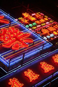 Neon Lights, Hong Kong
