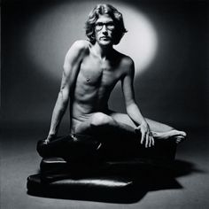 This was the photo used to market YSL first men's fragrance...