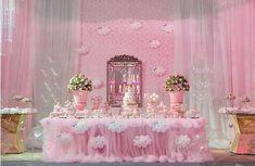 101 fiestas: Baby shower de lluvia de amor Ballerina Birthday Parties, Cinderella Birthday, Fiesta Baby Shower, Baby Shower Parties, Boy First Birthday, Girl Shower, Birthday Party Decorations, Bridal Shower, Balloons