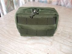 6″ X 4″ small zipper utility pouch By DIY Tactical