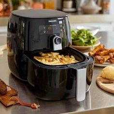 Superhandige tips voor AirFryer: baktijden en recepten Air Fryer Recipes, Drip Coffee Maker, Slow Cooker, Fries, Dessert, Kitchen, Food, Compact, Deep Fryer Recipes