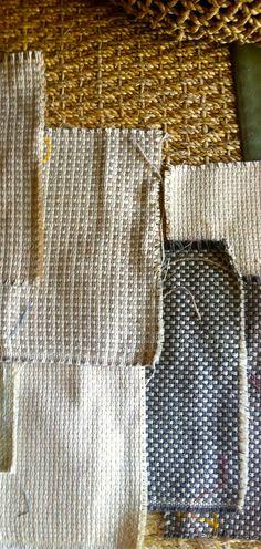 Sneak Peek at new JR/Sunbrella fabric with recycled yarns. Spring 2014