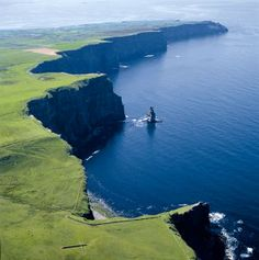Cliffs of Moher, right down the road from home :)