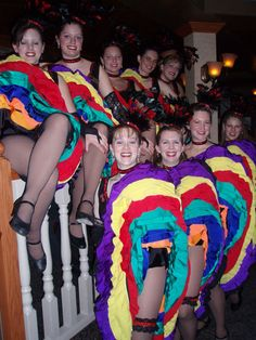 Yukon Sourdough Rendezvous Can Can Dancers