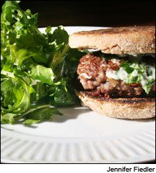 Dining Tip: Lamb Burgers with Herbed Aioli | Dining Tips | News & Features | Wine Spectator