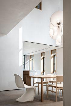 A Desired Home by Liang Architecture Studio - Dwell Decor Interior Design, Interior Decorating, Modern Interior, Light Hardwood Floors, Deco Addict, Studio Living, Apartment Renovation, Floor To Ceiling Windows, 2020 Design