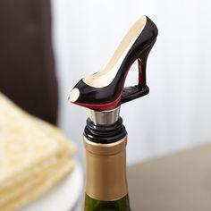 Black Fashionista Wine Set