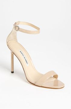 Manolo Blahnik 'Chaos Cuff' Sandal (Women) available at #Nordstrom. Must get in black!!