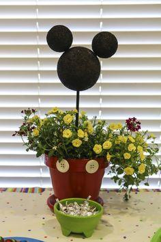 Mickey flower pot