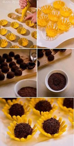 Baby Shower Cake And Cupcakes Baking 64 Ideas Sunflower Party, Sunflower Cakes, Sunflower Baby Showers, Sunflower Wedding Favors, Baby Shower Cakes, Wedding Cake Alternatives, Tinkerbell Party, Snacks Für Party, Cupcake Cakes