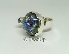 Glass beads by Bead Up - Jewelry Bracelet Watch, Glass Beads, Cufflinks, Universe, Silver Rings, Bracelets, Creative, Handmade, Accessories