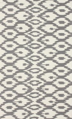 $5 Off when you share! Radiante Ning Ikat Soft Grey Rug #RugsUSA