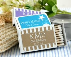 Personalized Matches- Set of 50 (Many Designs Available)