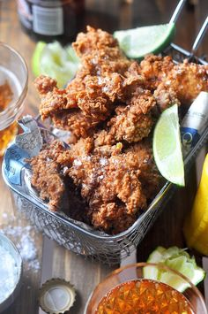 Fried chicken, perfect for a get together or picnic!