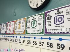 Classroom Confetti: Math Tip Monday--Number Sense. FREE Number Representation Anchor Charts!