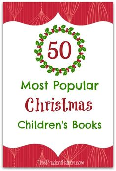50 Most Popular Christmas Children's Books