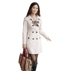 Womens 4Colors Double Breasted Slim Fit Blazer Jacket Trench Coat Free Scarf Apricot,Small Fancy Dress Store,http://www.amazon.com/dp/B00E0I7OMK/ref=cm_sw_r_pi_dp_qKMSsb12PAR2HHA8
