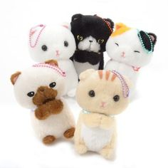 Onedari Munchkin Cat Plush Collection (Ball Chain) 1 #MunchkinCat