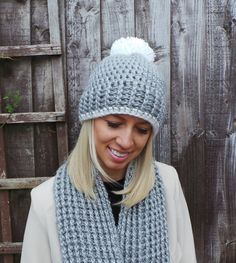 CROCHET HAT PATTERN Nordic Ribbed Hat and от KerryJayneDesigns