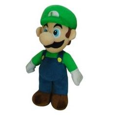 @Overstock - Die-hard fans of the Super Mario video game series will be unable to resist this Super Mario Brothers plush Luigi toy. This fun-to-collect doll features a realistic design with a soft body that also makes him perfect as a snuggle buddy.http://www.overstock.com/Sports-Toys/Super-Mario-Brothers-Luigi-9-inch-Plush-Toy/6016212/product.html?CID=214117 $10.03