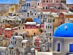 Santorini, Cyclades, Greece!!!