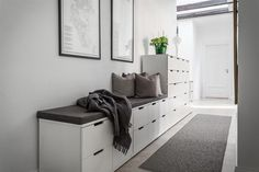 Ikea Nordli cabinets Ikea Nordli cabinets The post Ikea Nordli cabinets appeared first on Garderobe ideen. Ikea Bedroom, Bedroom Inspo, Nordli Ikea, Hotel Hallway, Flur Design, Ikea Interior, Corridor Design, Cool Kids Rooms, Hallway Designs