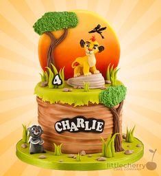 Lion king cake by iratorte Lion Guard Birthday Cake, 1st Bday Cake, Lion King Birthday, Baby Birthday Cakes, Lion Cakes, Lion King Cakes, Lion Guard Cakes, Cake Design Inspiration, Lion King Party