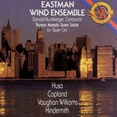 Eastman Wind Ensemble. Marsalis.
